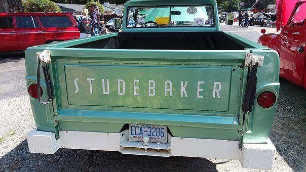 Studebaker, Vintage, Antique, Automobile, Truck, Car