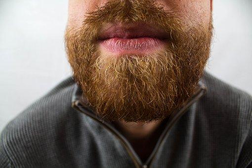 Bart, Beard Care, Mouth, Lips, Face, Man, Upper Lip