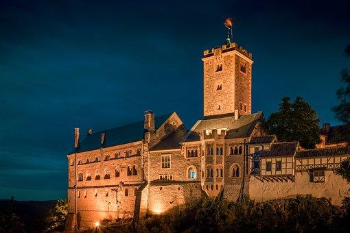 Wartburg Castle, Eisenach, Thuringia Germany, Castle