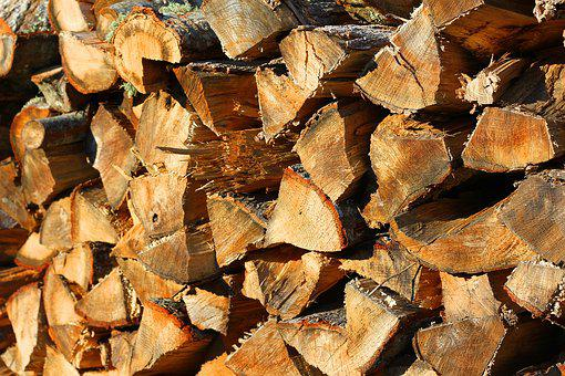 Stacked Wood, Cord Wood, Woodpile