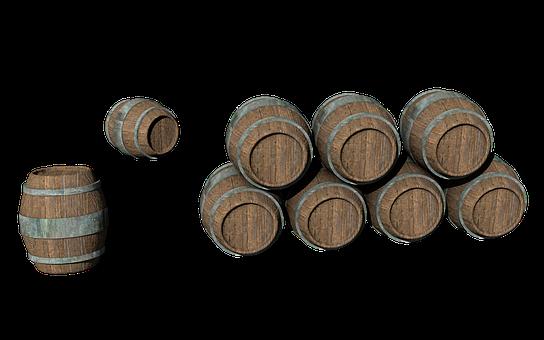 Wooden Barrels, Barrel, Png, Wine Barrel, Wine