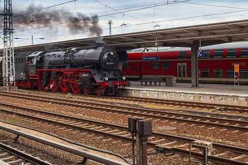 Berlin, The Train Station Of Lichtenberg