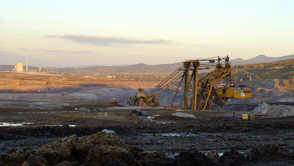 Mine, Extraction, Coal, Machine, Excavator, Coal Mining