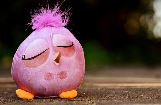 Bird, Soft Toy, Funny, Feather, Cute, Kuscheltier Toy