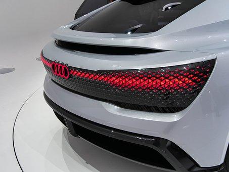 Audi, Study, Iaa, E-tron, Sportback, Design, Elaine