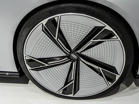 Wheel, Rim, Study, Design, Iaa, Elaine, Concept Vehicle