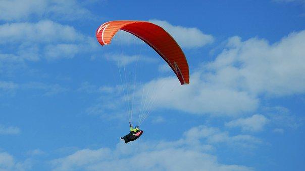Fly, Feeling Of Freedom, Paraglider, Hobby, Wallberg