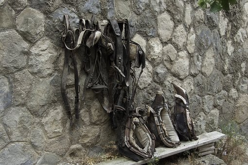 Objects, Old Harness, Horses