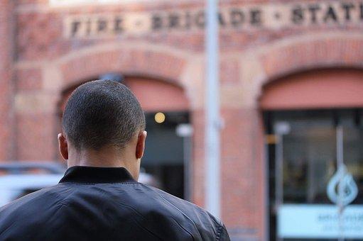 London, Man From Back, Barracks, Travel, Britain