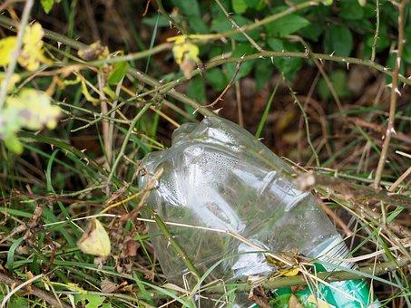 Plastic Bottle, Pollution, Nature, Garbage, Plastic