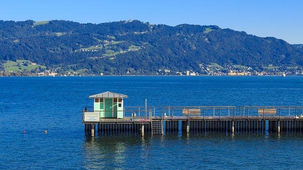 Lindau, Port, Lake Constance, Harbour Entrance