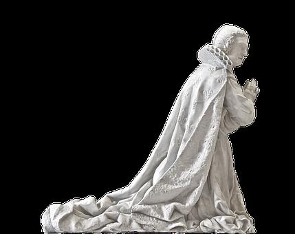 Statue, Sculpture, Pray