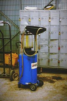 Reclaimer, Oil, Reclaimer Oil, Workshop