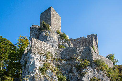 Reußenstein, Castle Russias Stone, Ruin, Swabian Alb