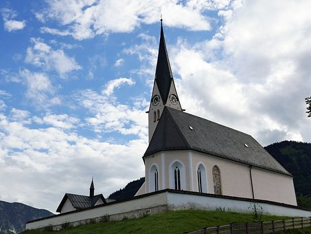 Kreuth, Bavaria, Tourist Destination, Church, Idyllic