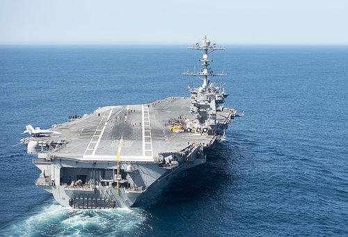 Uss Harry S, Truman Cvn 75, Aerial, Aircraft Carrier