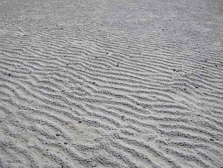 Sand, Beach, Waves, Mont Saint-michel, Holiday, Beaches